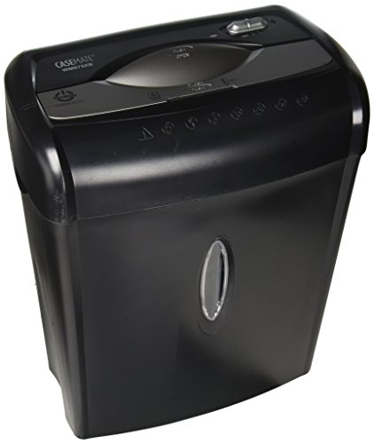 Casemate WM675XBC 6-Sheet Crosscut with Easy Lift Handle, Refurbished Shredder