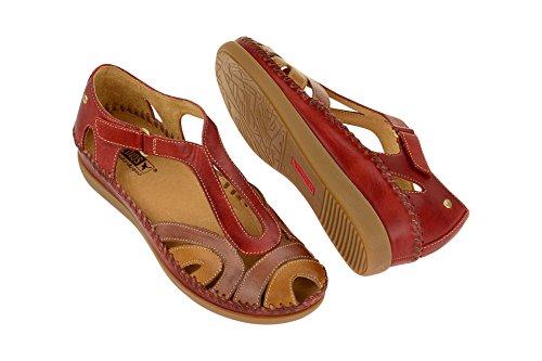 Pikolinos Kvinder Sandal - Sandaler Cadaques Rød AdRbXLBt