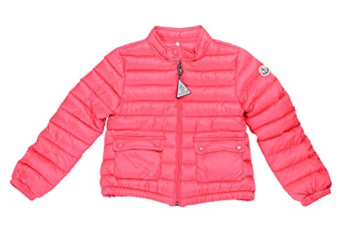 Moncler Kid's LANS Pink Down Light Parka Jacket Moncler Size 6A US 6 Years ()