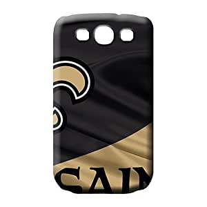 samsung galaxy s3 Heavy-duty High-definition Back Covers Snap On Cases For phone mobile phone carrying skins new orleans saints nfl football