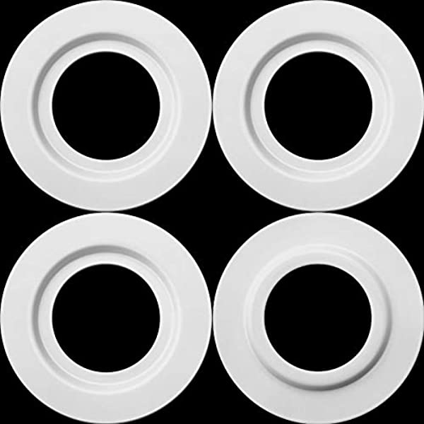 Pack Of 2 Metal Reducer Ring Plate Light Fitting Lampshade Washer Adaptor Converter