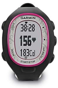 Garmin Forerunner 70 - Reloj para fitness, Negro y Rosa