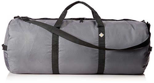 Northstar Sports 1050 HD Tuff Cloth Diamond Ripstop Series Gear and Duffle Bag, 18 x 42-Inch, Slate Gray