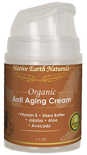 Anti Aging Cream: Softens Skin, Smooths Fine Lines, Reduces Dark Circles, Balances Skin Tone, Silky Natural Glow, Moisturizer, Face and Eye Area, Essential Oils, Day/Night, Anti Aging Skin Care