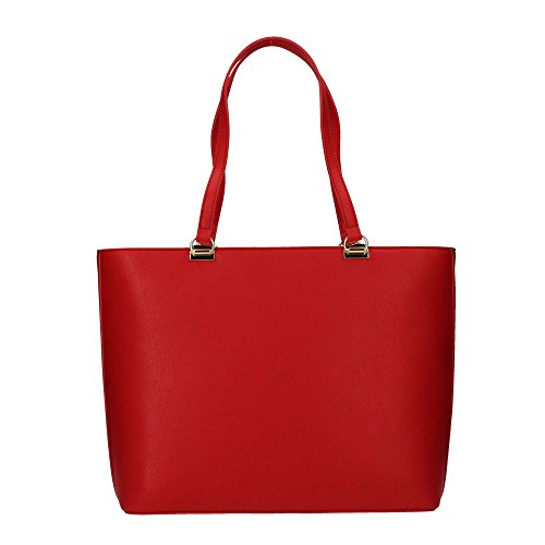 BORSA DONNA LOVE MOSCHINO SHOPPING ECOPELLE NAPPA COL. ROSSO BS18MO136