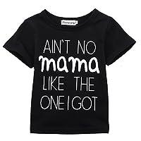 AIN'T No Mama Like the One I Got Funny Baby T-Shirt Short Sleeve Tops