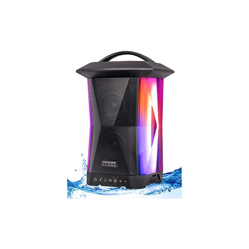 Nuvelon Flare Portable Bluetooth Speaker