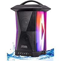 Nuvelon Flare NF15A1-BTM Portable Bluetooth Lantern Speaker with Multicolored Lights