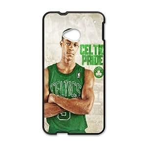HTC One M7 Cell Phone Case Black_Celtics Rajon Rondo Yisvm