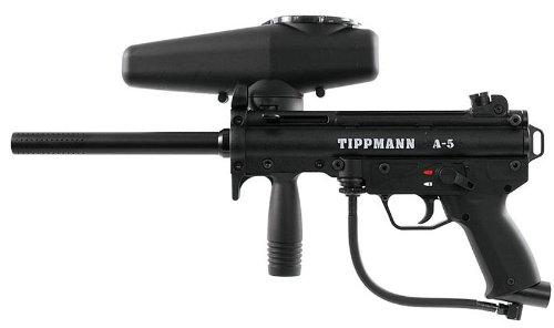 Tippmann Sprocket - Tippmann A-5 with Response Trigger .68 Caliber Paintball Marker