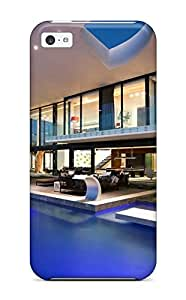 EIwwEON63fOYwR SusanEarlFarr Modern House With A Pool Feeling Iphone 5c On Your Style Birthday Gift Cover Case