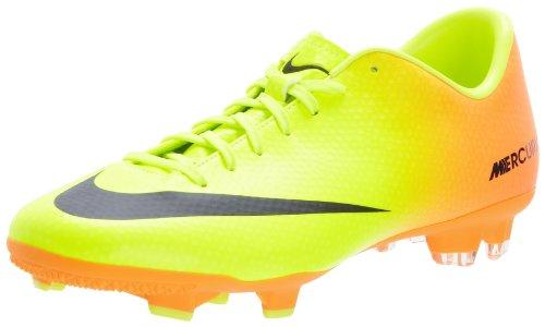 Mens Nike Mercurial Victory IV FG Soccer Cleat Volt Bright Citrus Black  Size 12 - Buy Online in Oman.  3e7a3cf9660de
