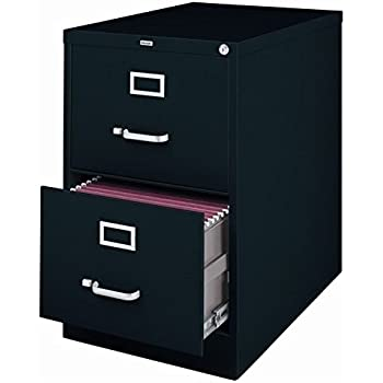 2 Drawer Commercial Legal Size File Cabinet Finish: Black
