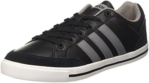 7009ad001eb adidas neo Men s Cacity Cblack Grethr Ftwwht Leather Sneakers - 10 UK India