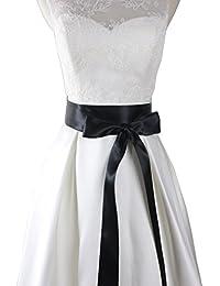 Wedding Sash Bridal Belts Simple Classic Silk Ribbon Sash for Dress 2