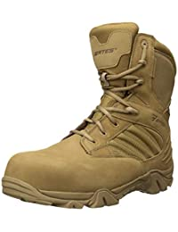 Bates Mens Gx-8 Waterproof Composite Toe Side Zip Military and Tactical Boot