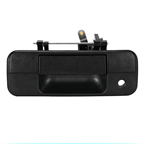 (Dade Black Textured Tailgate Liftgate Latch Handle Compatible for 2007-2013 Toyota Tundra 690900C040 69090-0C040)