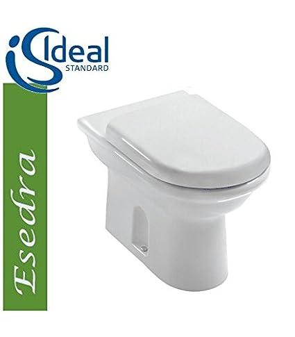 Costo Wc Ideal Standard.Ideal Standard Esedra Art T3063 Vaso A Pavimento Scarico Pavimento