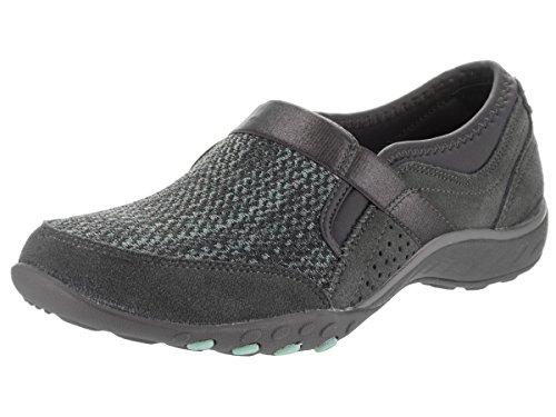 Skechers Relaxed Fit Breathe Easy Deal Me in Womens Slip On Sneakers