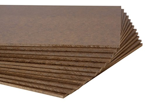 Jack Richeson High Density Tempered Hardboard(12 pack) ,  9x12 by Jack Richeson