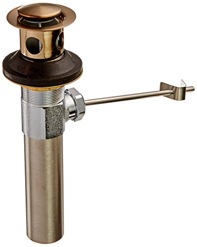 - Delta RP26533CZ Metal Bathroom Drain Assembly Less Lift Rod and Knob, Champagne Bronze