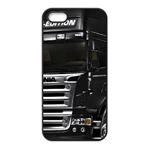 iphone5 5s case (TPU), scania trucks Cell phone case Black for iphone5 5s - FGHJ8975837