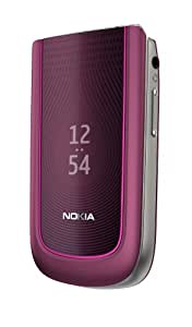 "Nokia 3710 fold - Móvil libre (pantalla de 2,2"" 320 x 240, cámara 3.2 MP, 70 MB de capacidad) color morado"