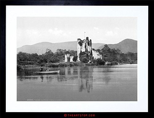The Art Stop Vintage Photo Ross Castle KILLARNEY Kerry Scenic Ireland Framed Print F97X6252
