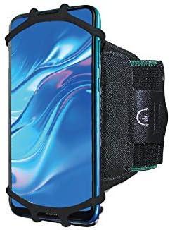 [해외]360°Rotating Sport Armband Running Gym Wristband Phone Holder for LG V35  G7  V30S  V40 ThinQ  V20  G6 PlusStylo 4  Stylo 4 PlusAristo 2  Rebel 4 (Black) / 360°Rotating Sport Armband Running Gym Wristband Phone Holder for LG V35 ...