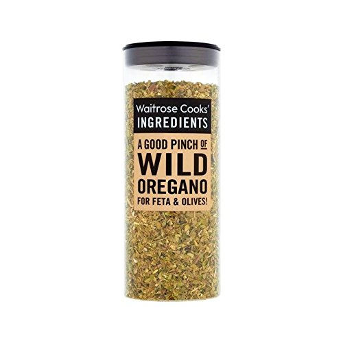 Cooks' Ingredients Wild Oregano Waitrose 20g - Pack of 4 by Cooks' Ingredients