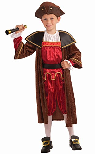 Forum Novelties Christopher Columbus Child Costume (XL)-X-Large