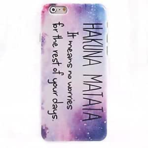 LCJ Proverbs Series 2 Pattern Case for iPhone 6