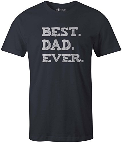 9 Crowns Tees Men's Awesome Funny Father's Day - Mens Crown T-shirt