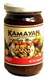 Kamayan Sauteed Shrimp Paste, Spicy, 8.8 Ounce
