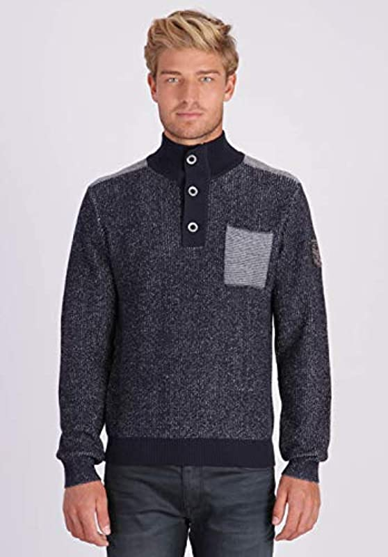 Kaporal męski sweter z paskiem: Odzież