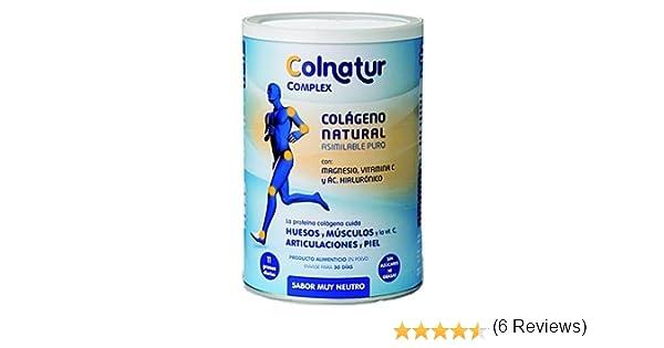 Colnatur Complex Sabor Neutro 330 Gr. de Protein: Amazon.es: Salud y cuidado personal