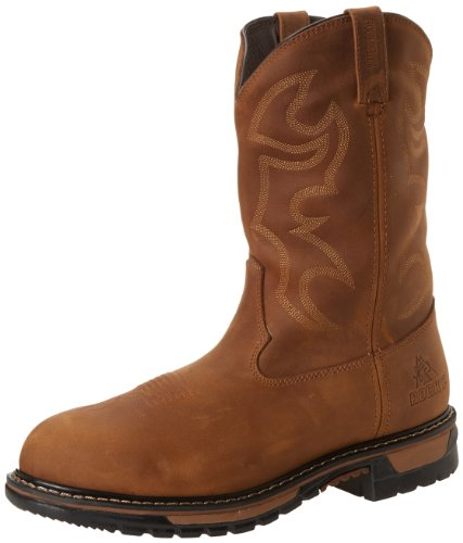 Rocky Men's FQ0002733 Western Boot, Aztec Crazy Horse, 11 M US -