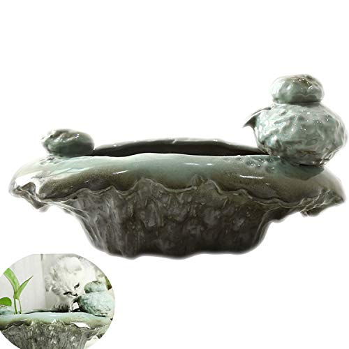 Xch Cat Water Fountains, Pet Drinking Fountain for Dogs and Kitten