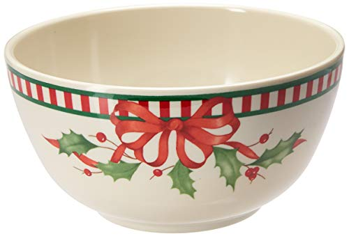 Lenox 880212  Holiday Melamine Bowls, Multicolor ()