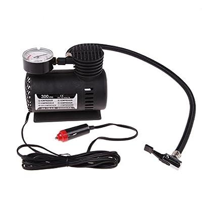 Vanpower Portable Mini Electric Air Compressor for Car Tire Inflator Pump 12 Volt 300 PSI XR