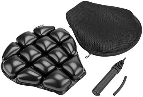 Gaoominy Motorfiets Seat Pad Motorfiets Luchtstoel Kussen Luchtkussen Vervang Fit voor AIRHAWK Cruiser Drukverlichting