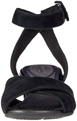 Totale Rockport Sandali Nero Caviglia Alaina Croce Movimento Da Donna Cinturino nero rPXrxw