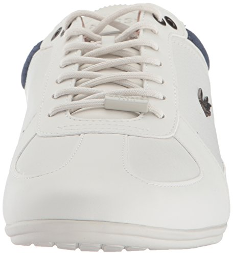 Lacoste Heren Evara Sneakers Off White / Nvy