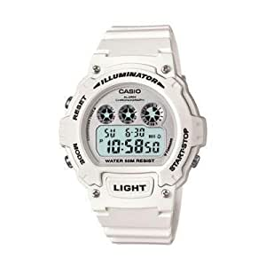Casio Sports Watch White [W214HC-7BV] -