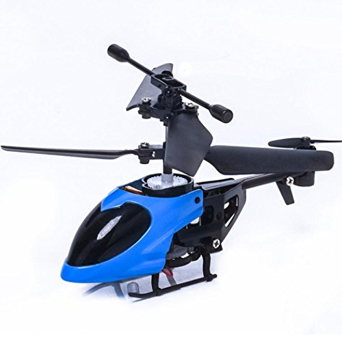 Price comparison product image Nesee Helicopter Toys, Children RC 5012 2CH Mini Rc Helicopter Radio Remote Control Aircraft Micro 2 Channel (Blue)