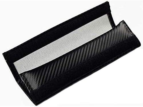 Racepace RECARO Carbon Fibre Seat Belt Protector Pads.