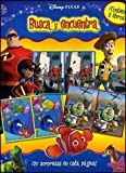 img - for Disney Pixar busca y encuentra / Disney Pixar Seek and See: Toy Story 2 & Los Increibles & Buscando a Nemo / Toy Story 2 & The Incredibles & Finding ... Y Encuentra/ Seek and See) (Spanish Edition) book / textbook / text book