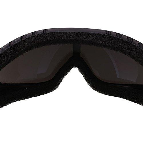 Forfar Motociclismo Gafas Los anteojos Gafas de esquí Al aire libre Ojo de protección Viento airsoft Mercurio