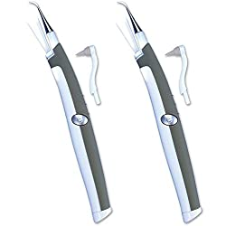 Sonic Pic Dental Cleaning System - 2 Pack - As Seen on TV