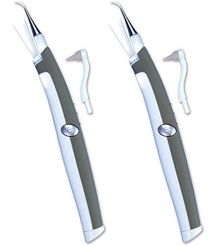 Sonic Pic Dental Cleaning System - 2 Pack - As Seen on TV - Oral Cleaning System